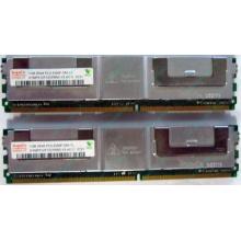 Серверная память 1024Mb (1Gb) DDR2 ECC FB Hynix PC2-5300F (Самара)