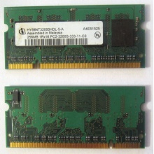 Модуль памяти для ноутбуков 256MB DDR2 SODIMM PC3200 (Самара)