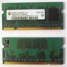 Модуль памяти для ноутбуков 256MB DDR2 SODIMM PC3200 (Самара)
